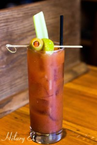 Spicy Herbal Bloody Mary