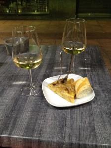 Tortilla & Txakoli