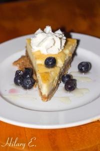 Honey Ricotta Cheesecake