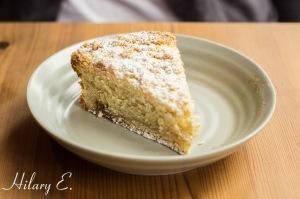 Rhubard & Almond Coffee Cake