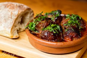 Chorizo Stuffed Dates